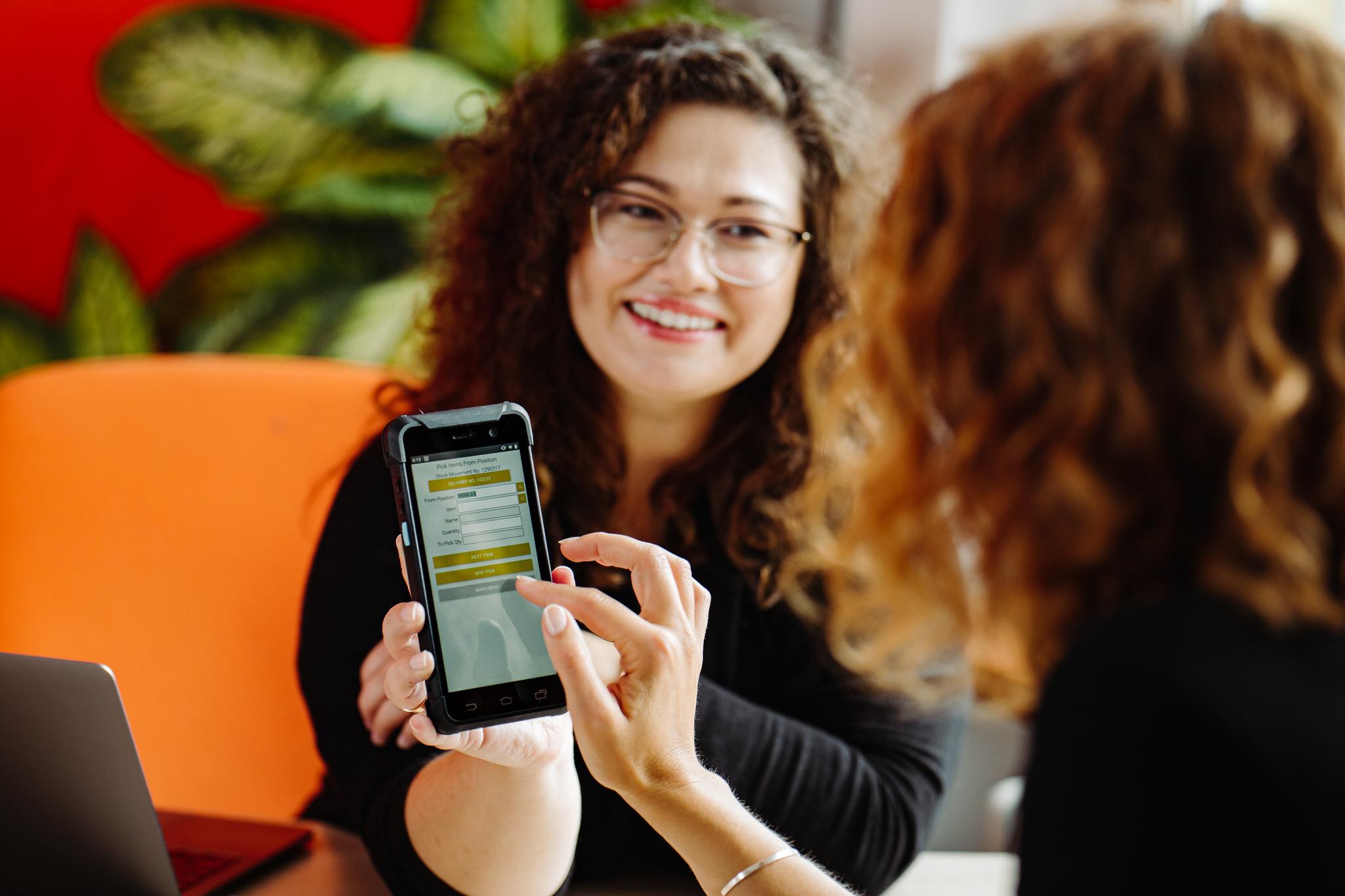 HansaWorld mobile application